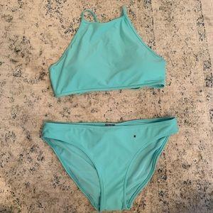 Aerie High Neck Bikini